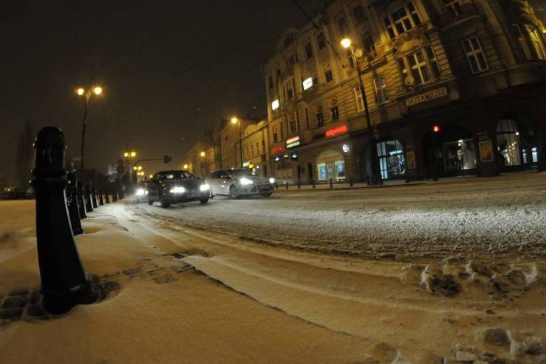 Kontratak zimy w Bydgoszczy [zdjęcia]