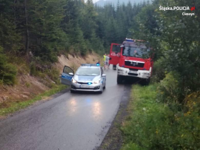 Śmiertelny wypadek z udziałem rowerzysty w Istebnej