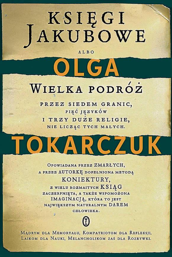 """""""Księgi Jakubowe"""", Olga Tokarczuk (Wydawnictwo Literackie)"""