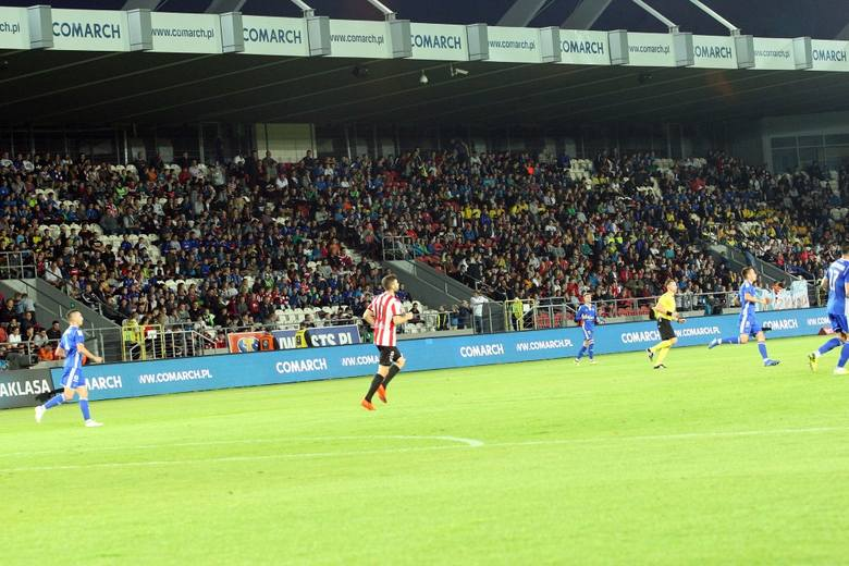 Zdjęcia z meczu Cracovia - Wisła Kraków 0:2 [GALERIA]