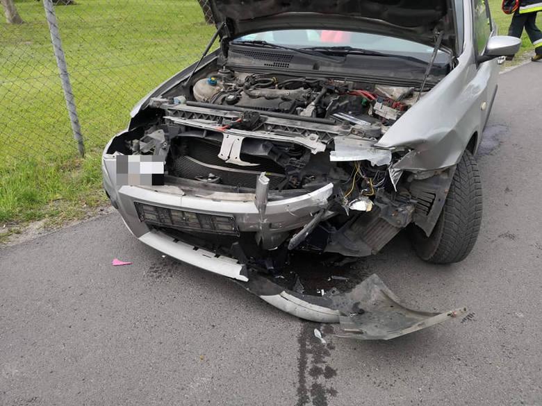 Do wypadku doszło w poniedziałek, 27 maja, w podgorzowskch Różankach. Zderzyły się dwa samochody osobowe. Wypadek miał miejsce około godziny 15. W wyniku