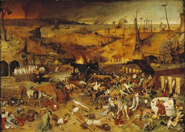 Pieter Bruegel (starszy), Triumf śmierci, 1562