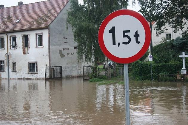 Ostatnia powódź w Zagrodnie. Bez zbiornika nie do uniknięcia