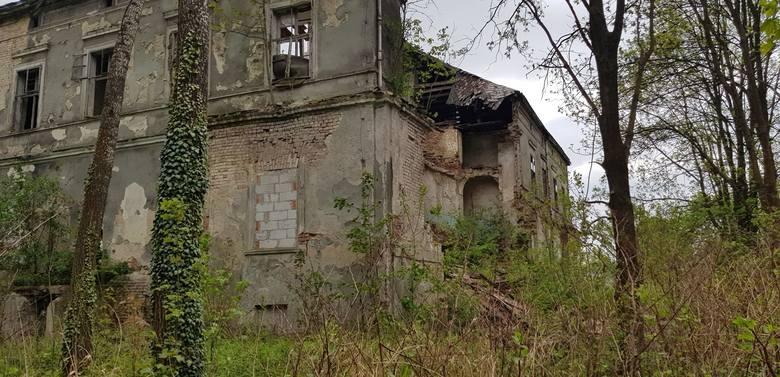 Pałac w Kosierzu się wali. Z właścicielem zabytkowego budynku nie ma kontaktu. Gmina ma związane ręce...
