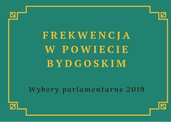Frekwencja podczas wyborów parlamentarnych 2019 była rekordowa w całym kraju. W Bydgoszczy wyniosła 66,77 proc., natomiast w powiecie bydgoskim 61,97