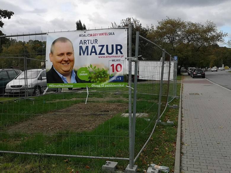 Plakaty i banery wyborcze powinny zniknąć do połowy listopada