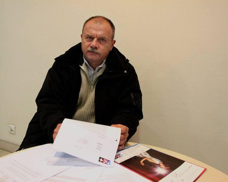 Pan Jan walczy z telewizją nc+ Nie będę płacił za ich bałagan w papierach!