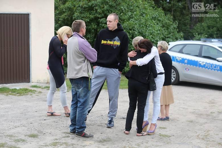 Dzisiaj odbyła się wizja lokalna na miejscu zastrzelenia 22-latka. Przebiegła w bardzo napiętej atmosferze