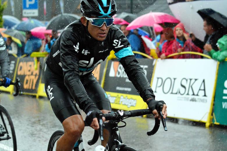 Michał Kwiatkowski w tym sezonie wygrał monument Mediolan - San Remo i włoski klasyk Strade Bianche
