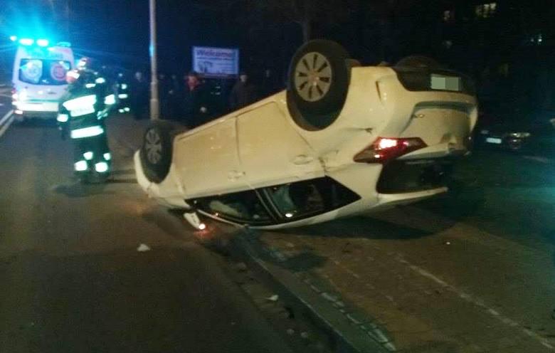 Do wypadku doszło na ul. Grunwaldzkiej w Przemyślu, na wysokości ul. Dolińskiego.