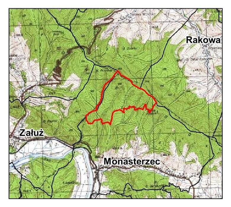 Przysłup - nowy rezerwat przyrody na Podkarpaciu.