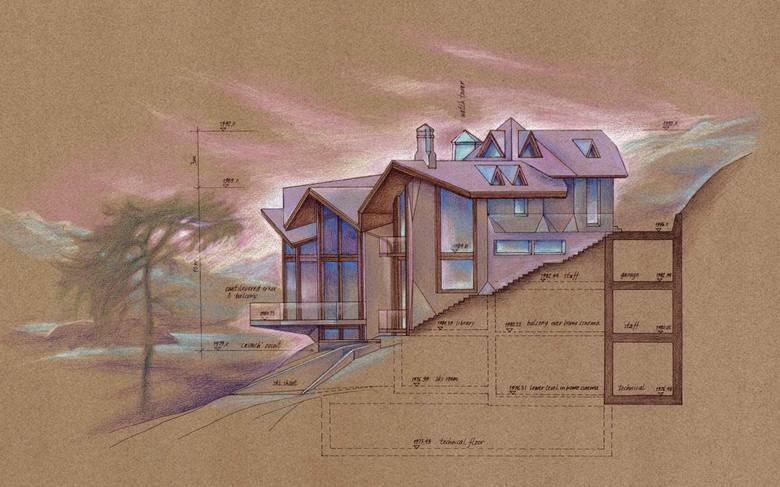 Luksusową willę zaprojektowało Studio DAR Architects