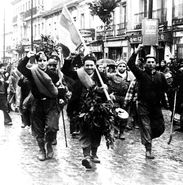 Antoni Chrost tuż po wojnie.