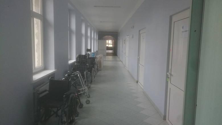 Pomieszczenia w szpitalu w Gubinie są już prawie gotowe.