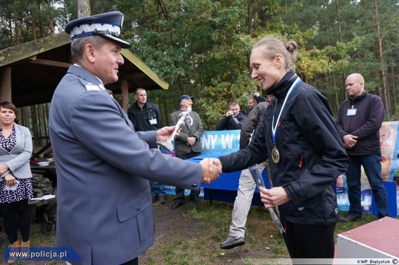 Białostocka policjantka Anna Wojtulewicz była najszybsza (zdjęcia)