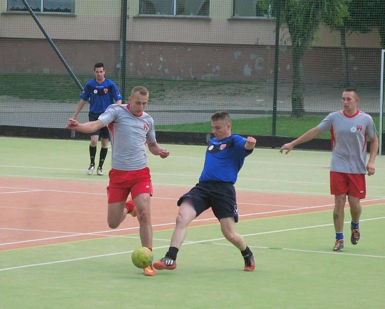 Sołecki turniej w piłkę nożną w Gąsawie.