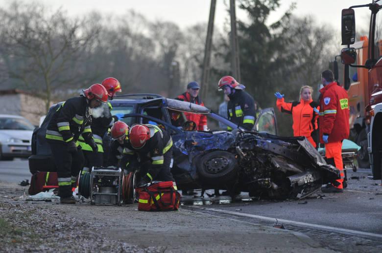wypadek w Dąbroszynie