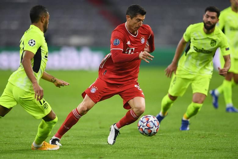 Liga Mistrzów. Niemieckie media zachwycone grą Bayernu w meczu z Atletico. Robertem Lewandowskim już mniej. Przeciętne oceny Polaka