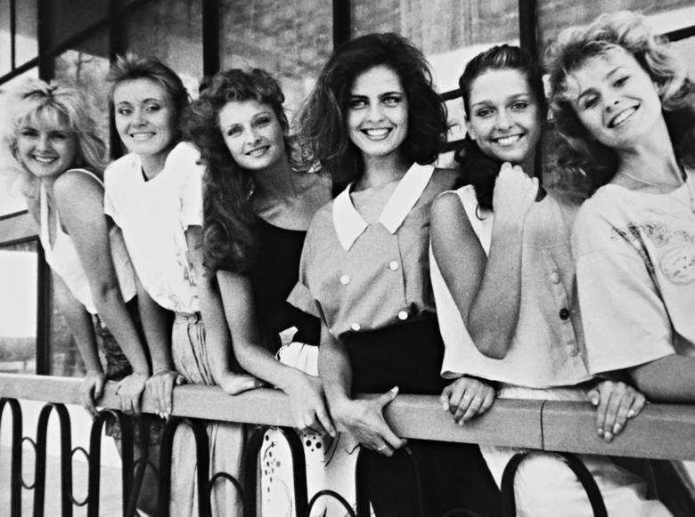 Finalistki z 1988 r. podczas zgrupowania w Wieżycy przed finałową galą w Sopocie