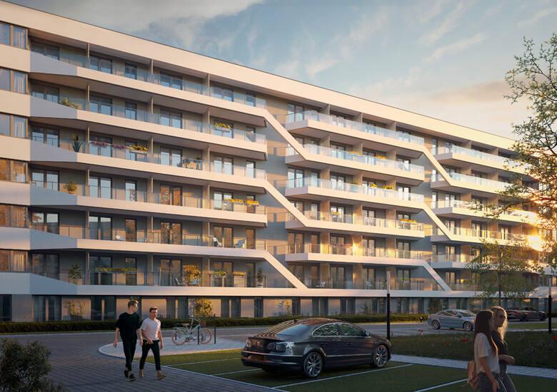 Wizualizacje nowego osiedla na Dąbiu