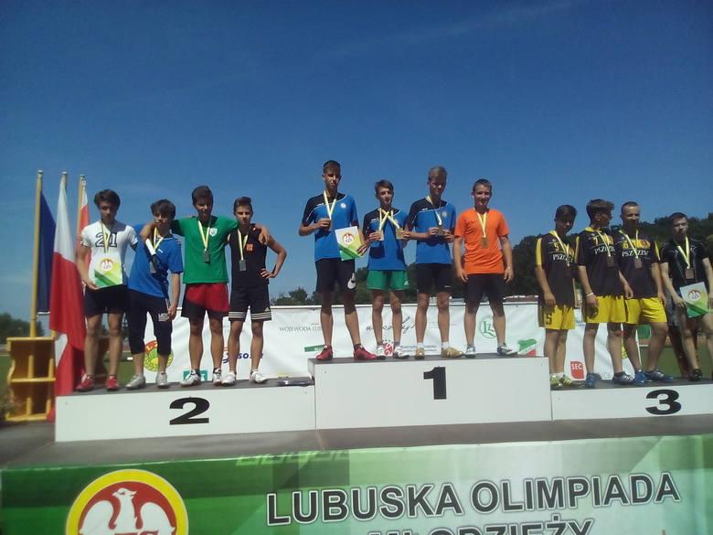 Finał Lubuskiej Olimpiady Młodzieży, 14 czerwca, Słubice