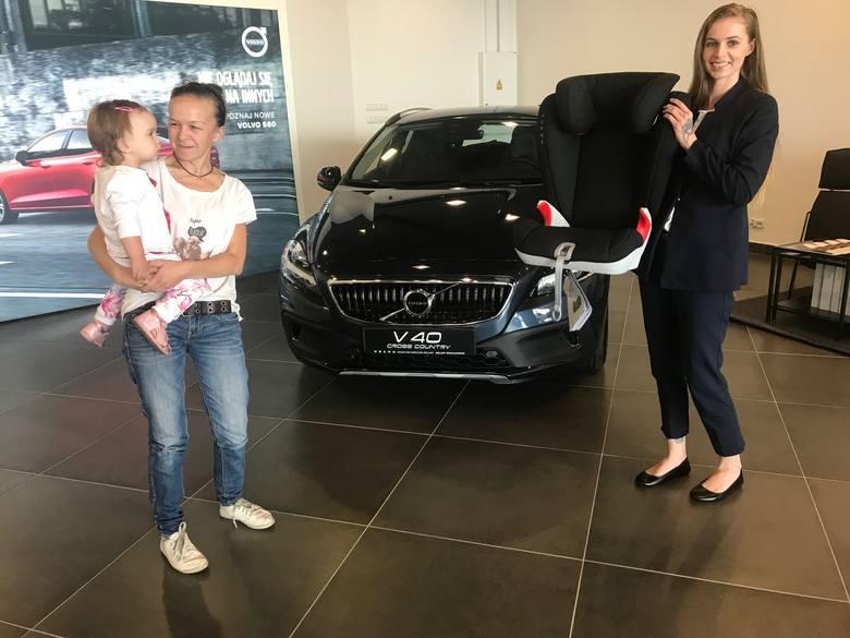 KONKURS! Bezpieczeństwo z Volvo. Pani Marcelina odebrała nagrodę!