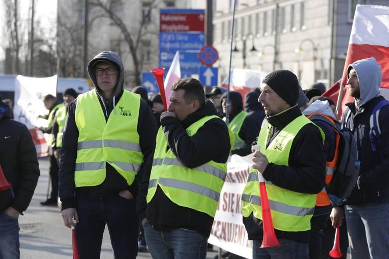 Protest Agrounii w Warszawie 3 kwietnia 2019