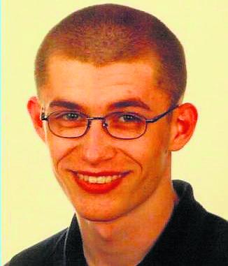 Zabity 22-letni Karol Piróg ps. Małpa, student politologii z Kielc