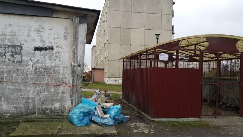 Kto podrzuca śmieci na ulicy Leśnej oraz Alejach Lipowych w Pionkach? Mieszkańcy apelują o pomoc do burmistrza