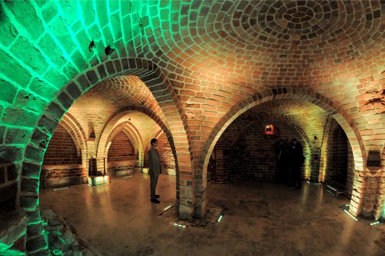 Piwnice romańskie w Gdańsku