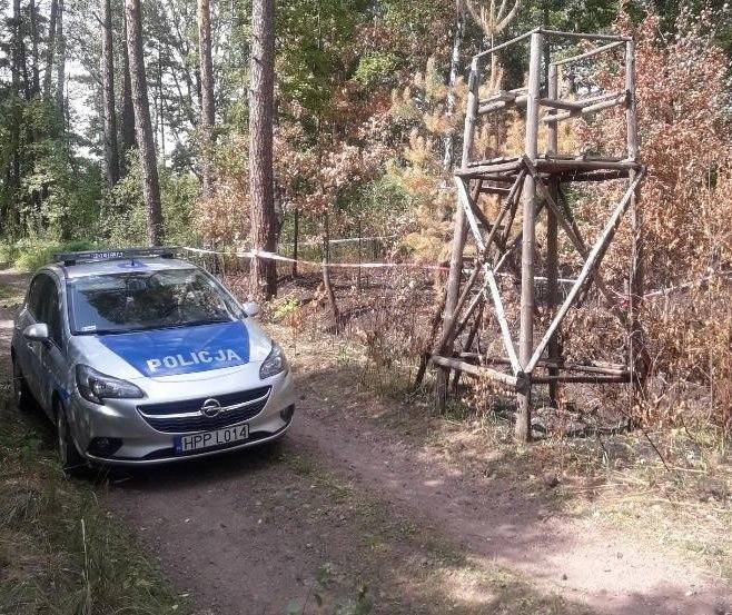 Niebezpieczny pocisk z lesie w Herbach. Interweniowali saperzy
