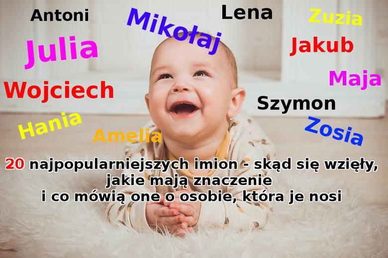 Ministerstwo Cyfryzacji podaje najbardziej popularne imiona, które rodzice nadawali swoim dzieciom w ubiegłym roku. Na liście jest kilkaset imion dla