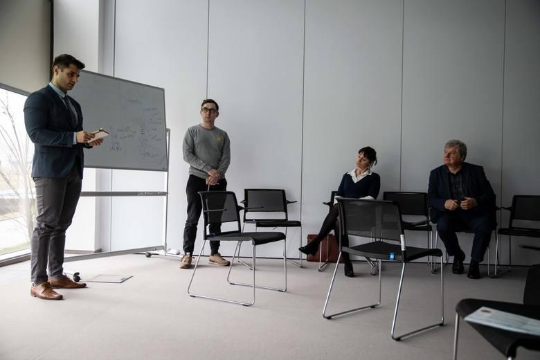 Eksperci prowadzący szkolenia na warsztatach Narodowego Centrum Badań i Rozwoju w Białymstoku