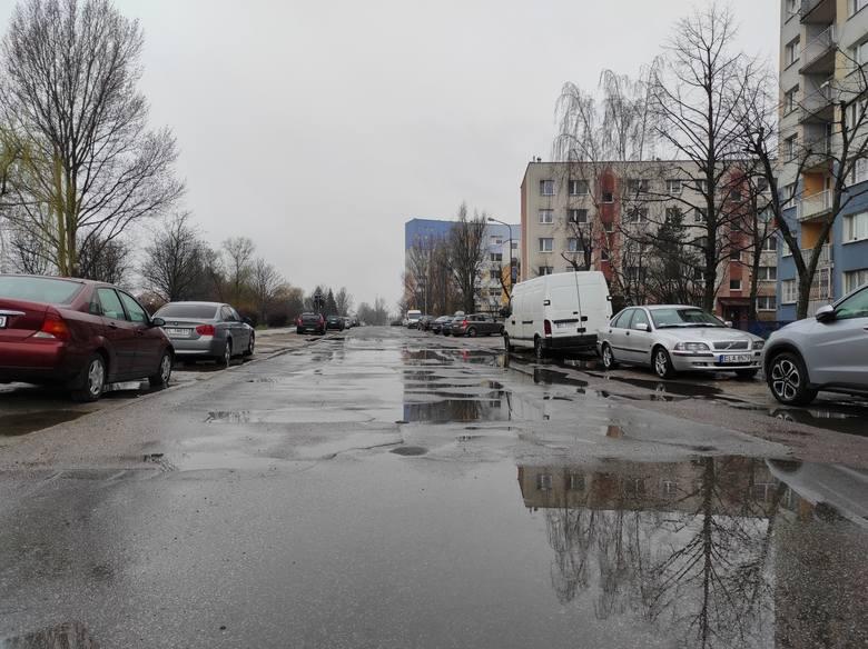 Chmielowskiego od ul. Bartoka do ul. Czernika