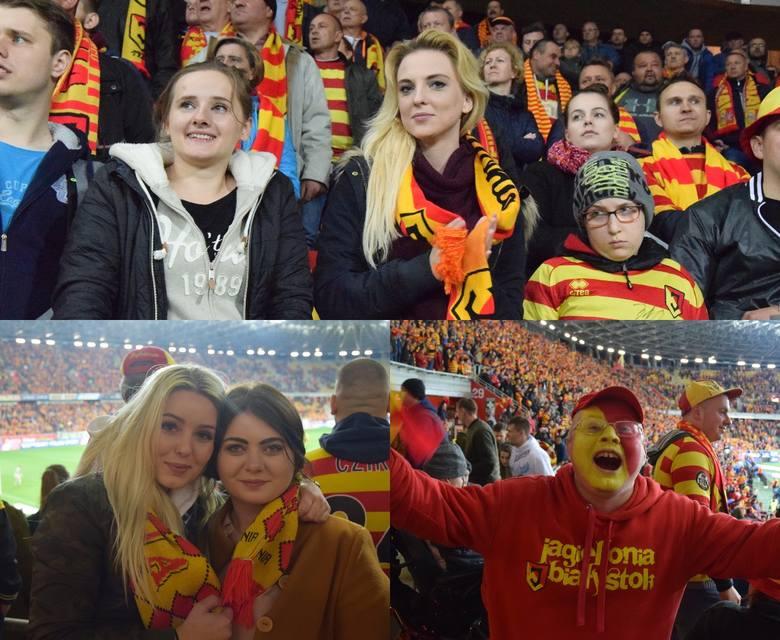 """Ponad 13 tysięcy kibiców przyszło oglądać zwycięstwo Jagiellonii z Legią na stadion miejski. Tego dnia nastroje na trybunach był pełne optymizmu. """"Legia"""