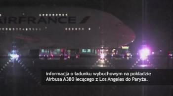 Dwa samoloty Air France lądowały awaryjnie. Były informacje o bombach