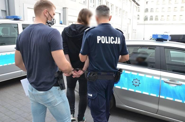 Podejrzany o uszkodzenie ciała nożem został zatrzymany przez policjantów z Oliwy