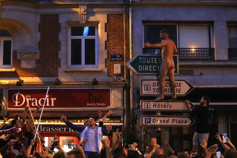 Francuska policja miała problemy z Anglikami w centrum Lille