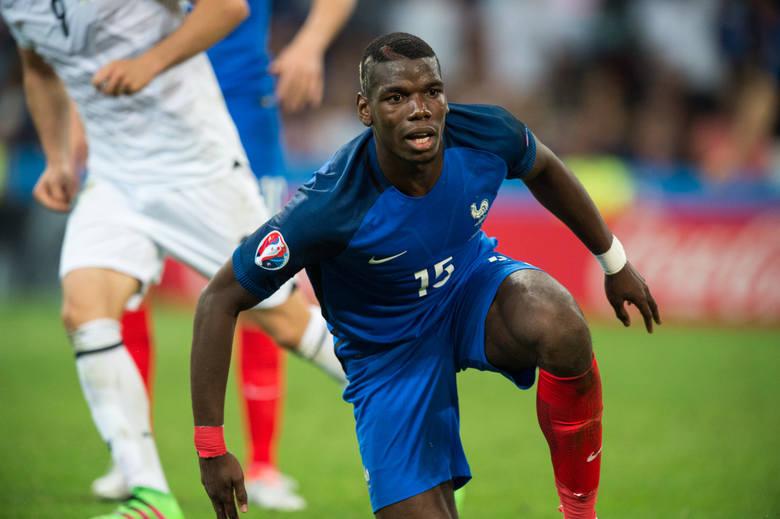 Paul Pogba (Francja) – mocno krytykowany przez gospodarzy turnieju po dwóch meczach w trzecim zagrał już trochę lepiej, ale wciąż nie jest to zawodnik,