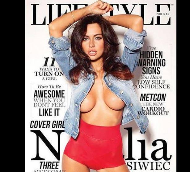 Okładka magazynu z Natalią Siwiec, która jak zwykle wygląda bardzo ponętnie