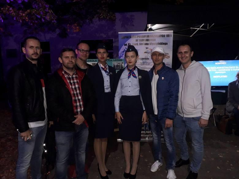 """Tarnobrzeska """"Prymasówka"""" promowała się na """"Nocy w Instytucie Lotnictwa"""" (zdjęcia)"""