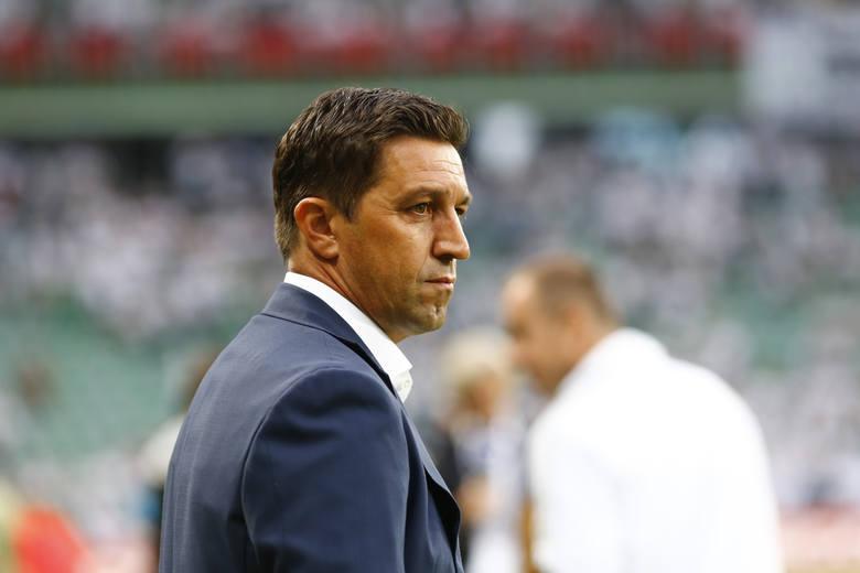 Besnik Hasi jest trenerem Legii Warszawa od początku tego sezonu.
