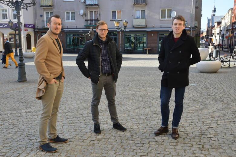 omasz Sielicki, Michał Siodła i Michał Wierzbicki