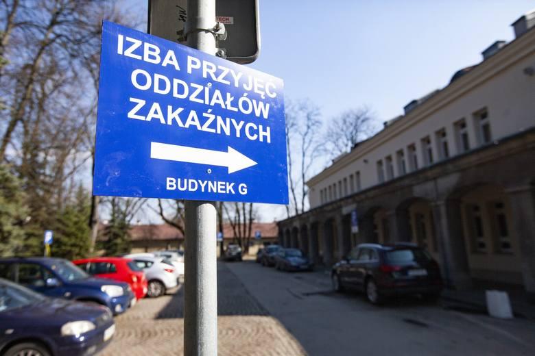 Koronawirus został potwierdzony w szpitalu Żeromskiego w Krakowie