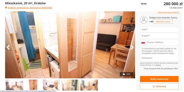 Oto jak można zaaranżować mieszkanie o powierzchni 20 mkw.