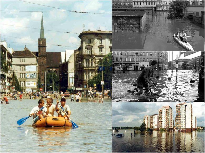 Powódź 1997 we Wrocławiu. Dokładnie 18 lat temu do Wrocławia wdarła się Wielka Woda (MNÓSTWO ZDJĘĆ)