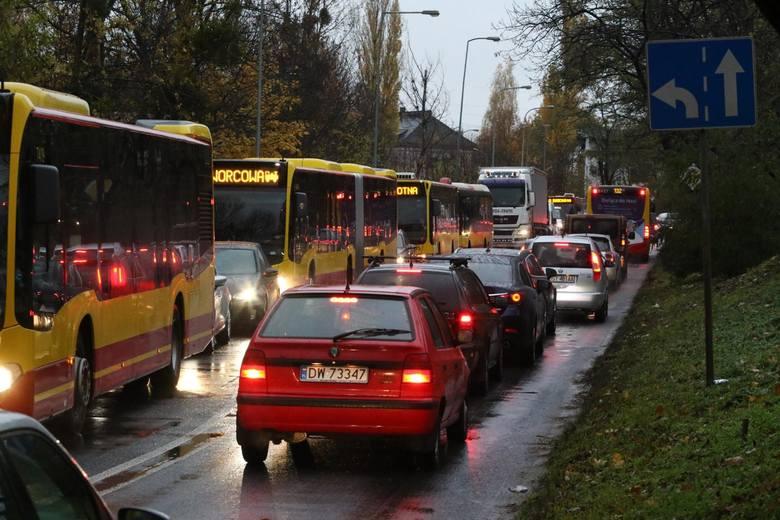 Takich korków we Wrocławiu nie było od lat! Przejazd samochodem przez centrum to prawdziwa mordęga! Przykłady z ostatnich dni? Mamy je od Was: Galeria