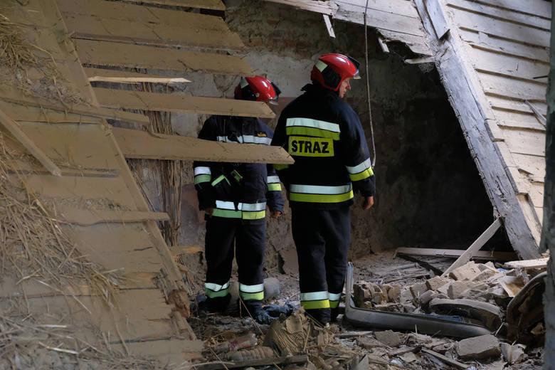 W czwartek przed godz. 14 Straż Miejska w Przemyślu odebrała zgłoszenie o zawaleniu sięstropu w opuszczonym budynku przy ul. Leszczyńskiego. Funkcjonariusze