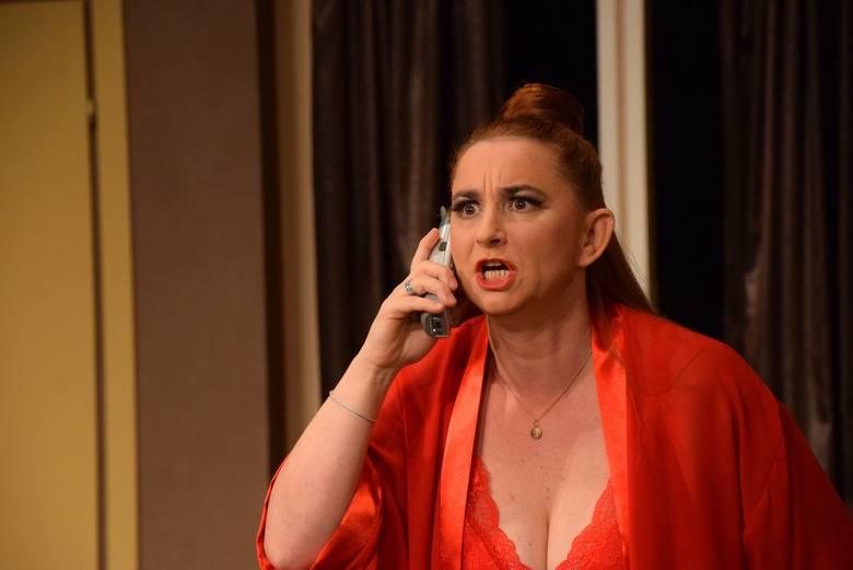 Arleta Godziszewska jako Barbara w Mayday