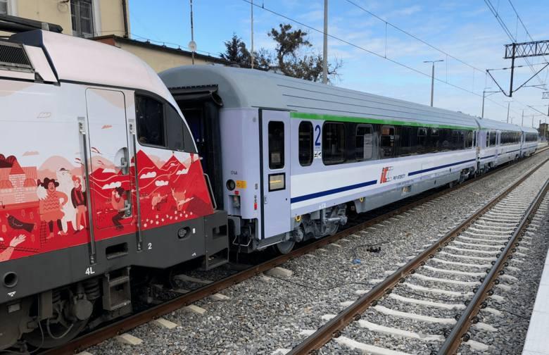 Najnowsze wagony PKP Intercity w pociągach z Wrocławia (ZOBACZ)
